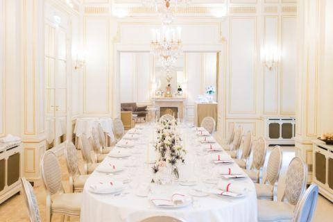 paris hotel plaza athenee wedding reception