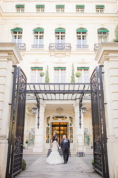 shangrila paris hotel elopement
